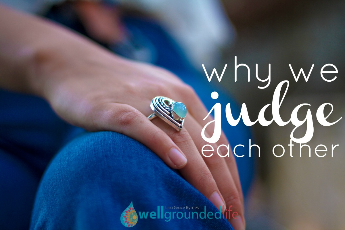 Why we judge each other…